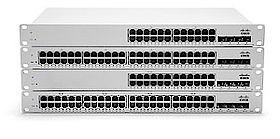 Cisco Meraki Cloud-verwaltete Access Switches